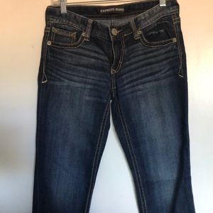 Express skinny Lowrise jeans size 4s